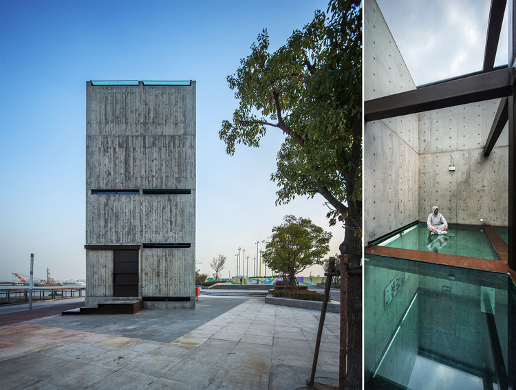 Como os arquitetos de hoje interpretam o design de interiores na China?, Vertical Glass House. Image © Hengzhong Lyu