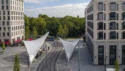 Tram Station Schwabinger Tor / Felix Fischer Architekten
