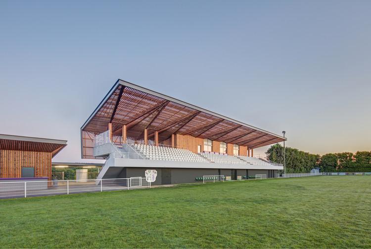 Stadium Ger / Camborde Architectes, © Xavier Dumoulin