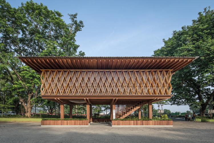 Microlibrary Warak Kayu / SHAU Indonesia, © KIE