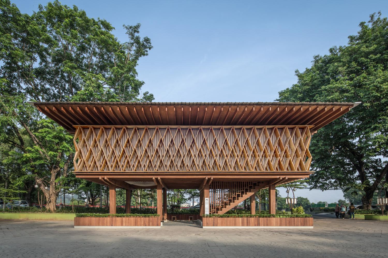 Microlibrary Warak Kayu / SHAU Indonesia