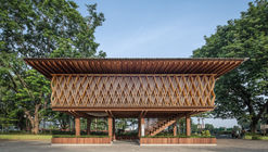 Microbliblioteca Warak Kayu / SHAU Indonesia