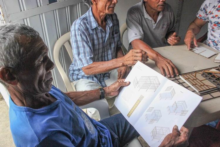Guía ilustrada de sistema arquitectónico para la vivienda de interés social rural, © Juan Pablo Pardo