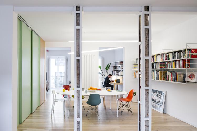 Apartamento para uma pessoa solteira em Madri / gon architects + Ana Torres, © Imagen Subliminal