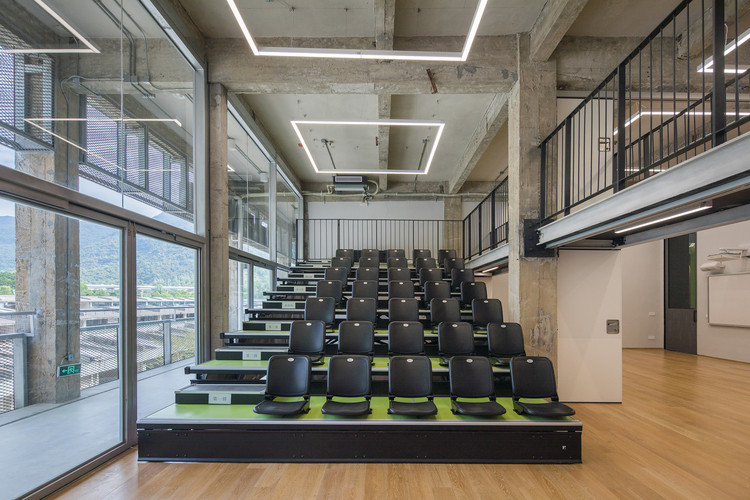 Flexible use of the learning unit. Image © Chao Zhang
