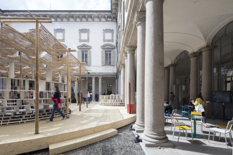 Salone del Mobile. Milano Postponed to April 2021, Courtyard Village / Kéré Architecture. Image © Laurian Ghinitoiu