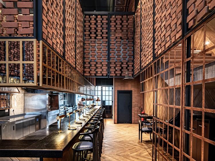 Restaurante Fogón / Hitzig Militello Arquitectos, © Mohammed Shehab Din