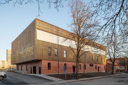 Telefonplanshall Sports Hall / AIX Arkitekter