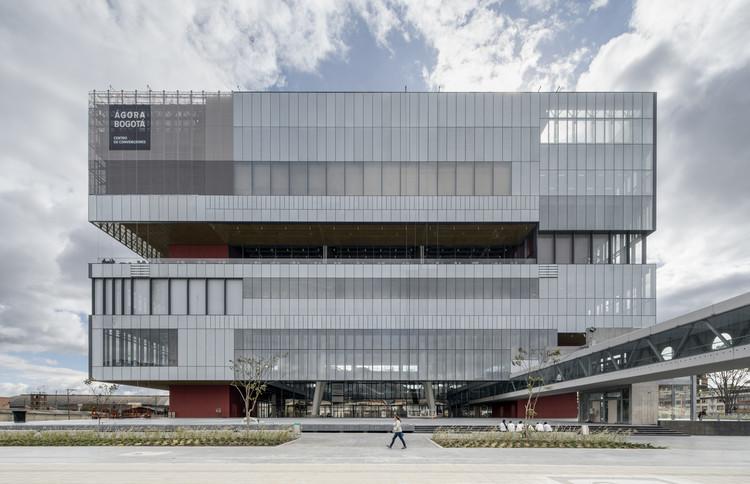 Agora Bogota / Estudio Herreros + Bermúdez Arquitectos. Image © Enrique Guzmán