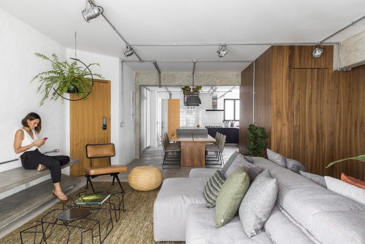 Apartamento Marechal  / Casa100 Arquitetura, © Maira Acayaba