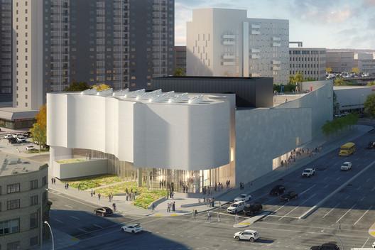 Inuit Art Centre. Image Courtesy of Michael Maltzan Architecture