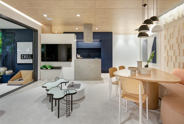 Apartamento Insight / Bohrer Arquitetura, © Fellipe Lima / Vanguard Home