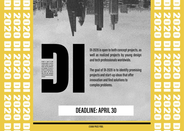 Open Call: Design Innovation Competition 2020, DI 2020