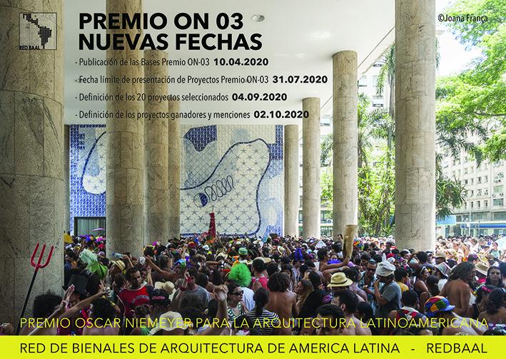 Tercera Edición del Premio Oscar Niemeyer para la Arquitectura Latinoamericana, REDBAAL