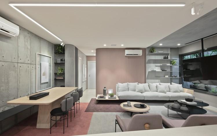 Apartamento Arch 103 / Bohrer Arquitetura, © Fellipe Lima