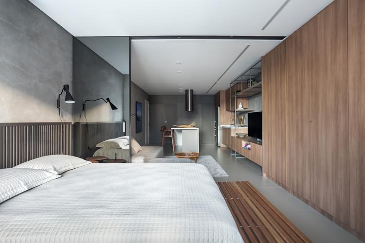 Apartmento HR / Studio Bocardin Corsi Arquitetura, © Eduardo Macarios