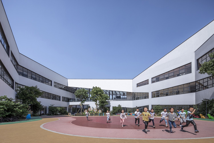 Nanxun Town Center Kindergarten / UAD, © Weiqi Jin
