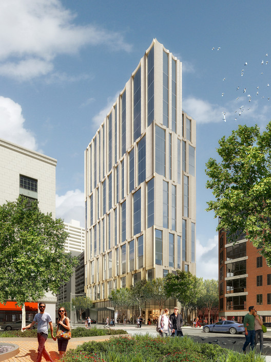 Höweler + Yoon and Sasaki Announce New Residential Tower in Boston, Courtesy of Luxigon