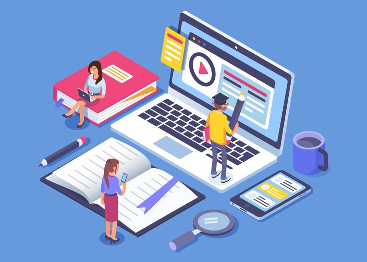 Consejos prácticos para una enseñanza en línea en tiempos de COVID-19, © Irina Strelnikova / Shutterstock