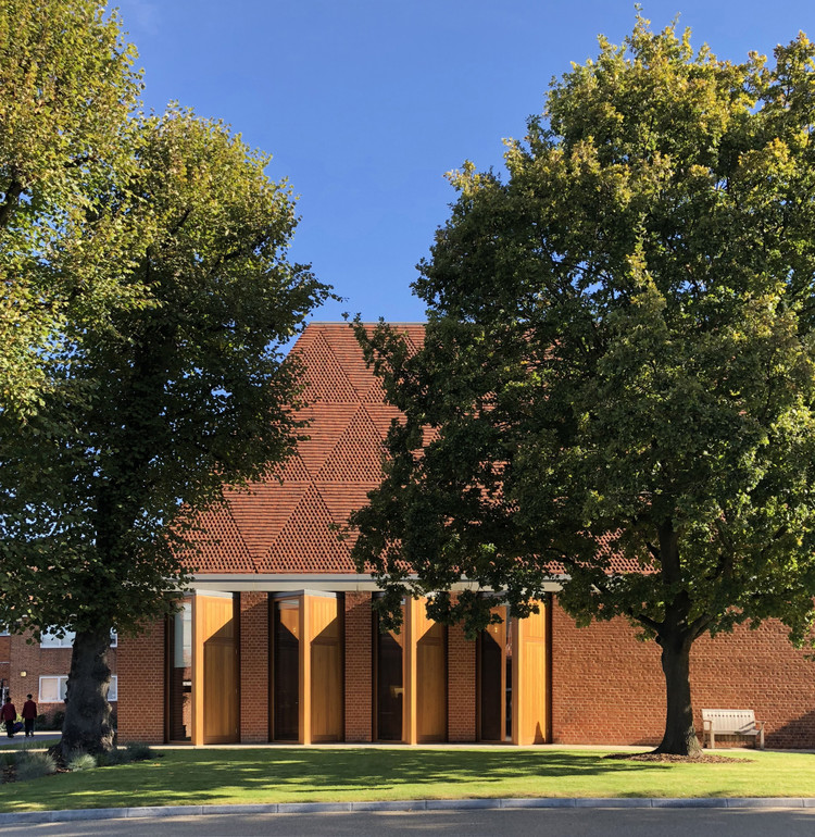 King's College School Wimbledon Music School / Hopkins Architects, © Janie Airey