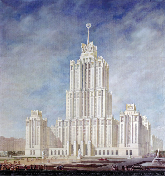 The American-Inspired Russian Architecture