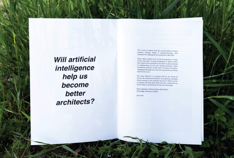 Inteligencia Artificial en Arquitectura. Imagen cortesía de 3XN