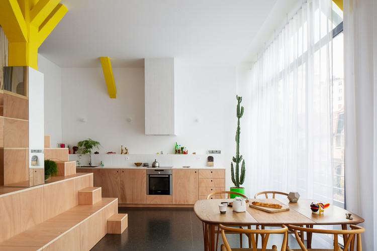 Apartment BDD / Jean Benoît Vétillard Architecture, © Giaime Meloni