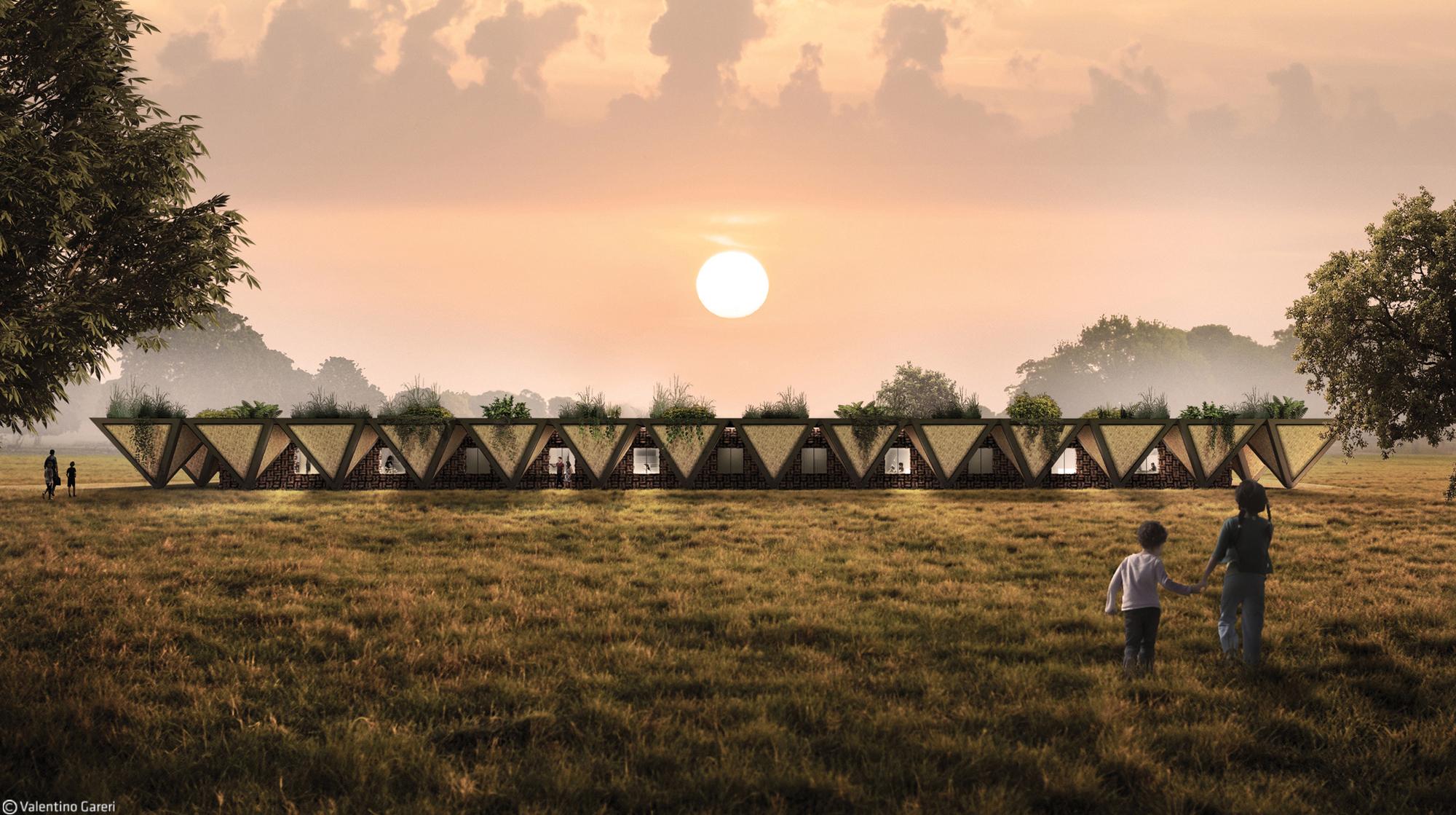 In Africa, A Modular Prototype School Combines the Practical and Utopian
