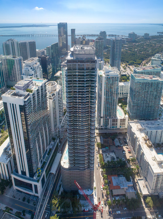 Brickell Flatiron, Miami's Tallest All-Residential Tower, Is Now Completed, © Golden Dusk Photography