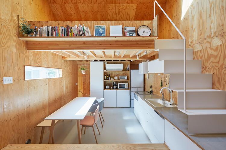 Milk Carton House Tenhachi Architect Interior Design Archdaily