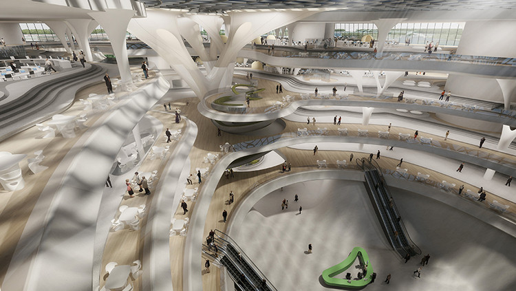 Rethinking Workplace Design in the Age of Big Data, Courtesy of Zaha Hadid Architects