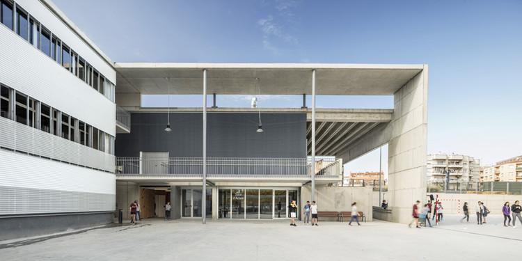 Instituto de Enseñanza Secundaria Vilafranca del Penedès / Jordi Farrando, © Adrià Goula