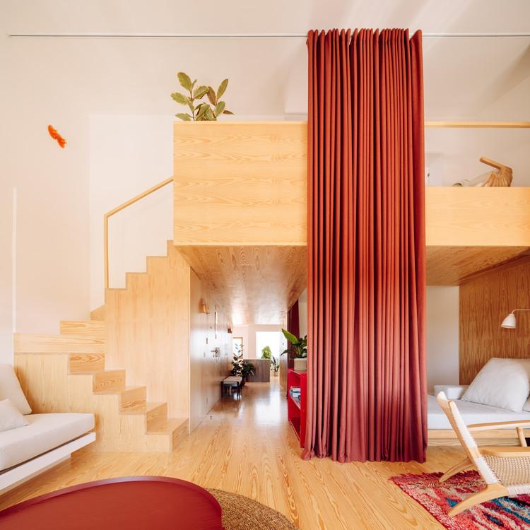 Apartamento en Santa Cruz / Bala atelier, © Francisco Nogueira