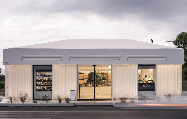 Neon Bakery & Coffee / Studio 2Pi Architecture, © Pygmalion Karatzas