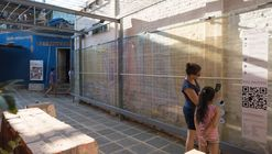Biblioteca Digital Plaza Amapola / Minimo Comun Arquitectura + Entre Nos Atelier