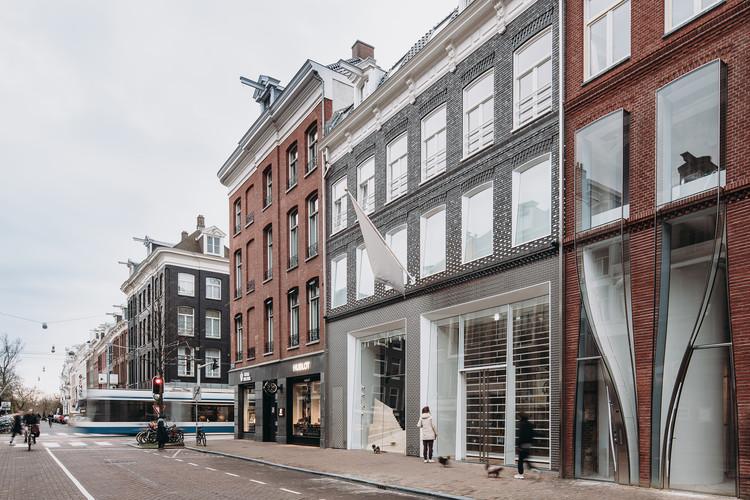 The Brick Pixelation Facade P.C. Hooftstraat / UN Studio, © Eva Bloem