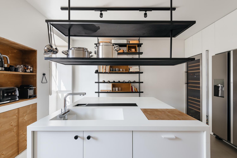 Cómo diseñar una Isla de cocina: Espacio eficiente y multifuncional,© Do Mal o Menos