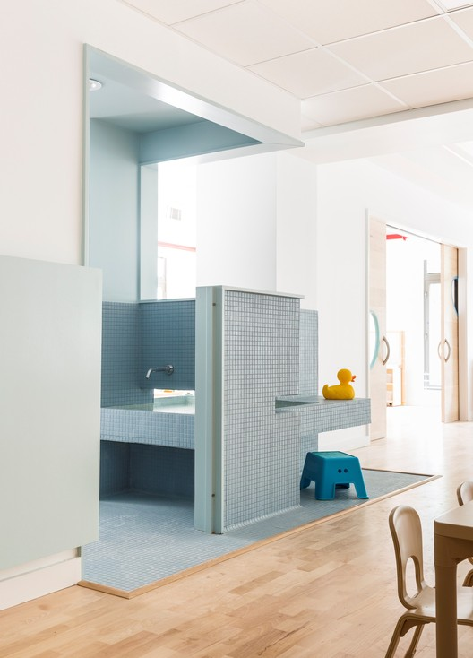 Maple Street School Preschool / BFDO Architects + 4Mativ Design Studio