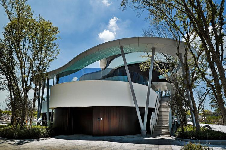 Casa club para la comunidad de Tainan / Chain10 Architecture & Interior Design Institute, Exterior del edificio. Imagen