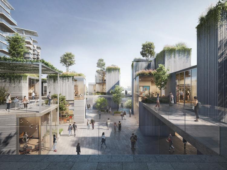 ODA projeta bairro jardim na orla de Chengdu, China, Cortesia de Filippo Bolognese Images