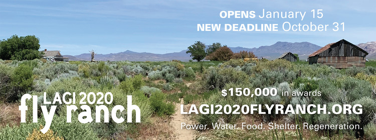 Call for Entries LAGI 2020: Design the Future of Fly Ranch, Courtesy of Land Art Generator