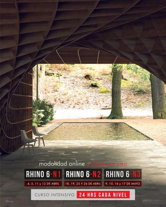 Rhinoceros 6 Arquitectura - Curso Online