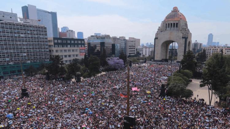 Marcha 8M Ciudad de Mxico Image  Sandra Barba
