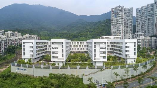 Teaching building and lab building. Image © Mingjun Hu
