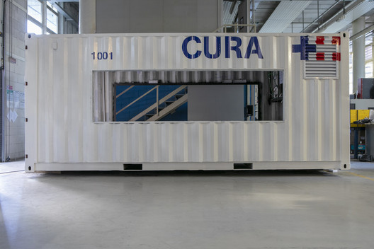 CURA prototype. Image © Max Tomasinelli