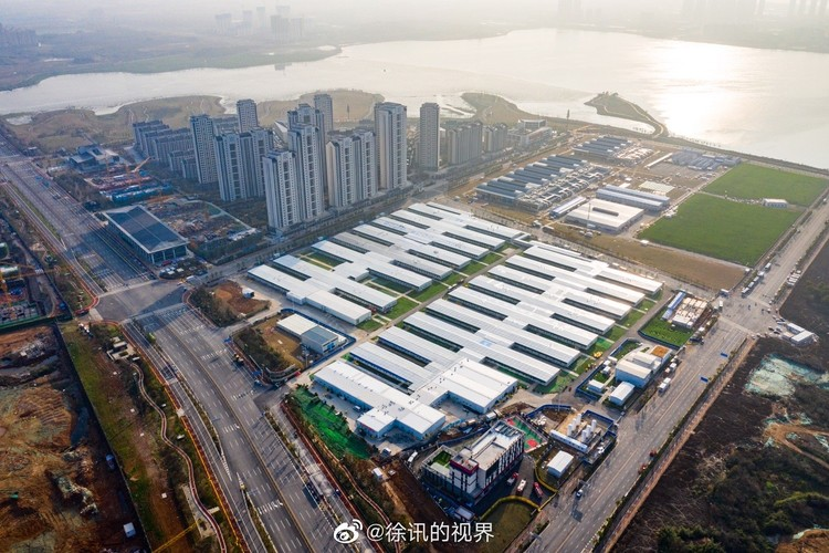 A Closer Look at the Chinese Hospitals Built to Control the COVID-19 Pandemic, © Sina Weibo