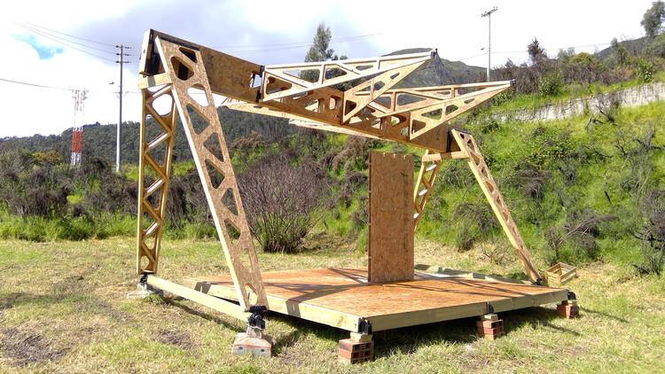 Sistema Modular de Cubierta Autoportante Multifuncional, la nueva patente de la Universidad de los Andes, Cortesía de ArqDis Uniandes