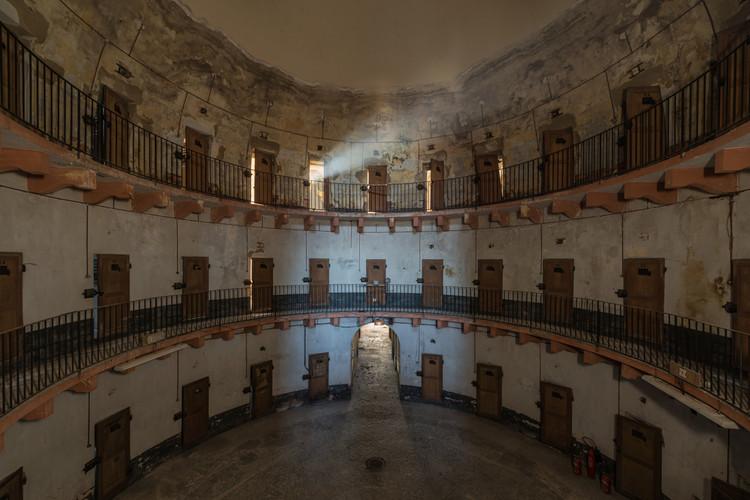 The Architecture of Surveillance: The Panopticon Prison, © Romain Veillon