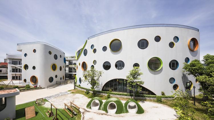 EcoKid Kindergarten / LAVA, © Hiroyuki Oki