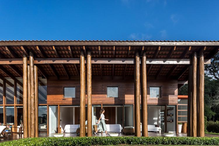 Casa Pinho / Canalli Arquitetura, © Eduardo Macarios
